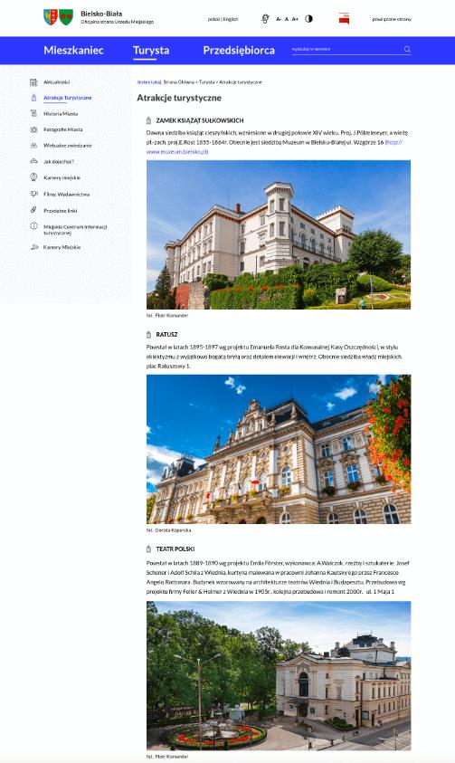 Bielsko – strona WWW