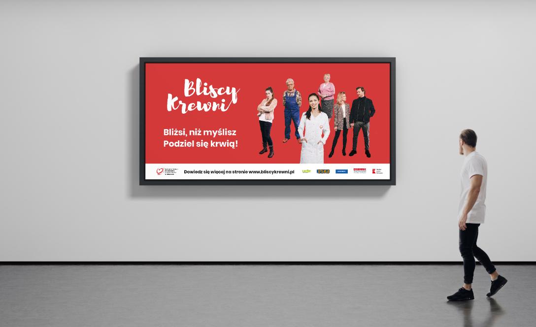 Bliscy krewni – billboard