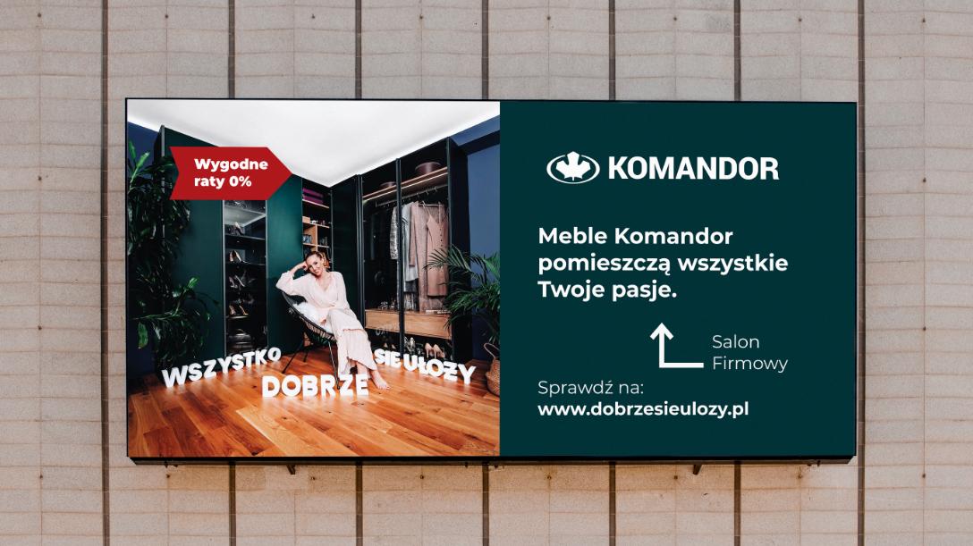 Komandor – billboard
