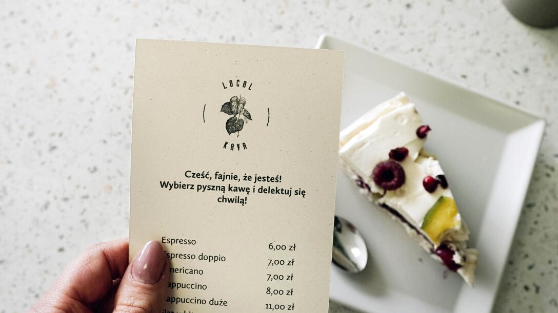 Local Kava – menu