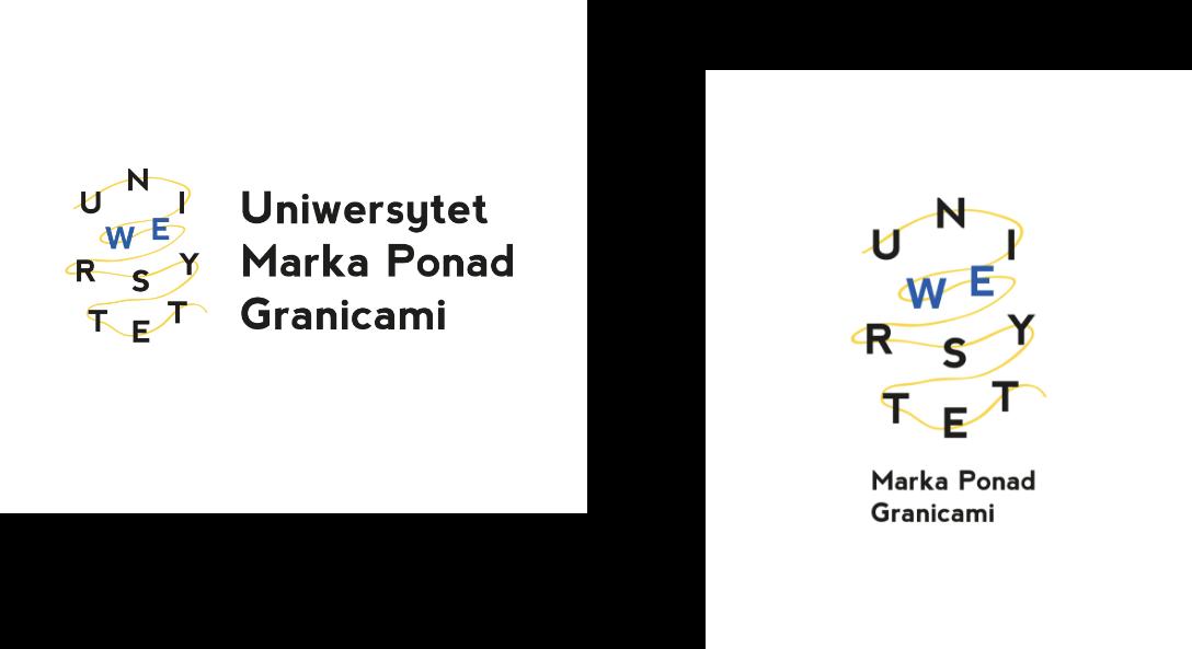 Uniwersytet Szczeciński – logo Uniwersytet Ponad Granicami