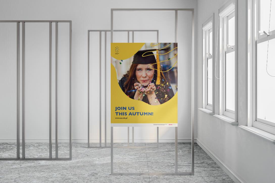 Uniwersytet Szczeciński – plakat